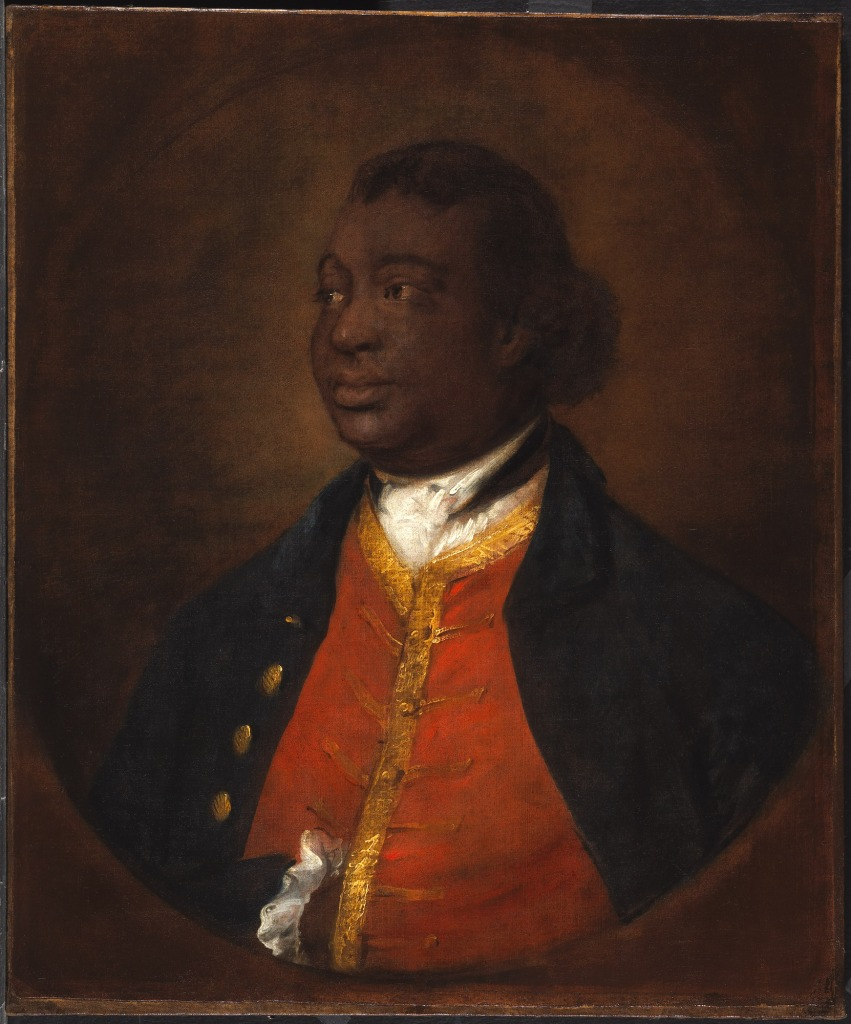 Thomas Gainsborough's portrait of Ignatius Sancho.